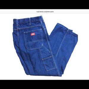 NWT Dickies 14 oz Denim Carpenter Jeans Stonewash